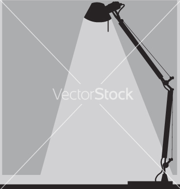 Free office lamp vector - Free vector #271153