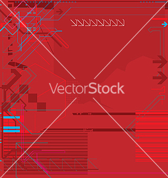 Free high tech background vector - Free vector #271303