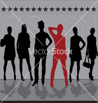 Free fashion models vector - Free vector #271363
