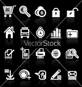 Free essential web style icons vector - vector gratuit #271543