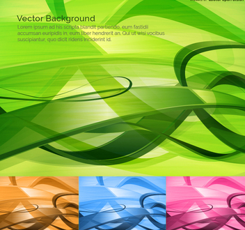 technology abstract background 4 color options - Free vector #271583