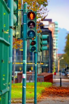 Red traffic light - image #271643 gratis