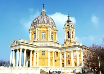 The baroque Basilica di Superga church - image #271653 gratis