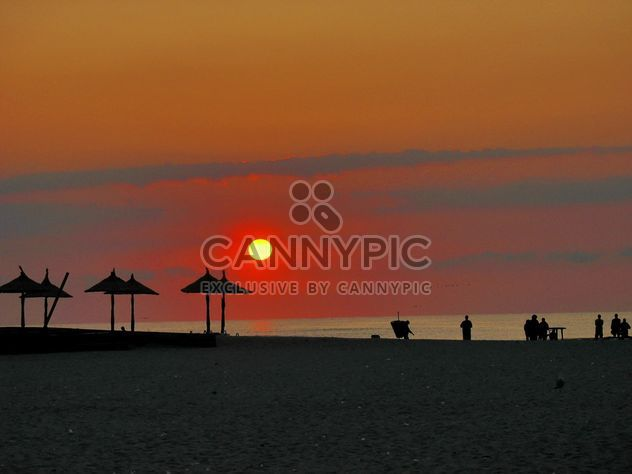 Silhouette at sunrise - Free image #271943