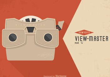 Free Vintage Viewmaster Vector Poster - vector #272363 gratis