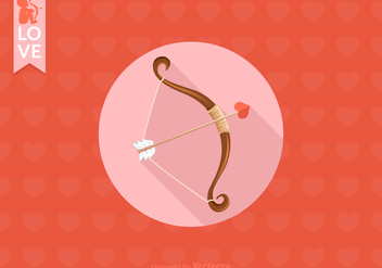 Free Cupids Bow Vector - Free vector #272383