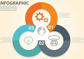 Business Diagram Circle Chart - vector #272793 gratis