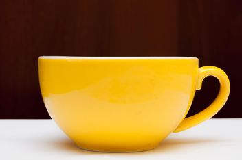 Yellow cup macro - Free image #273203
