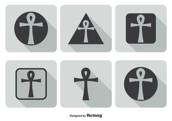 Key of Life Icon Set - vector gratuit #273973
