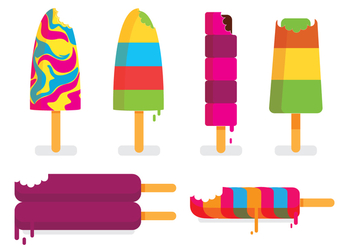 Bite Mark Ice Cream - Free vector #274213