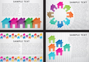 Home & Buildings Templates - Free vector #274403