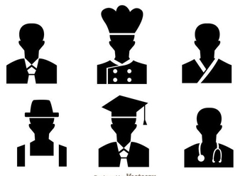 Profession Default Avatar - Free vector #274733