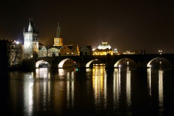 Night Prague - Kostenloses image #274873