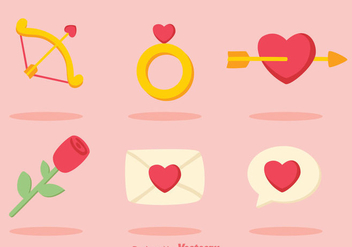 Love Colors Icons - vector #275243 gratis