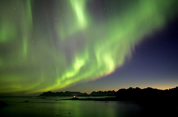 Northern Lights, Greenland - image #276343 gratis
