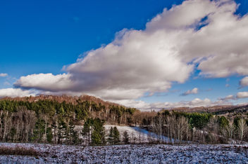 Vermont Winter Landscape - бесплатный image #279183