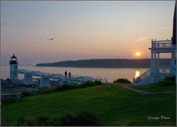 Sunset, Marshall Point Lighthouse - бесплатный image #280353