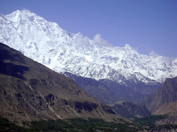 The view from Baltit fort - бесплатный image #280603