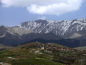 Mountain village in Hamedan - image #280713 gratis