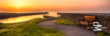 Girvan Bench Sunset - image gratuit #282543