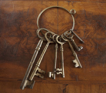 Antique Skeleton Keys - Free image #284343