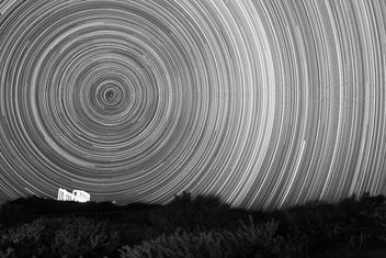Tample of Poseidon Startrails - Free image #284893