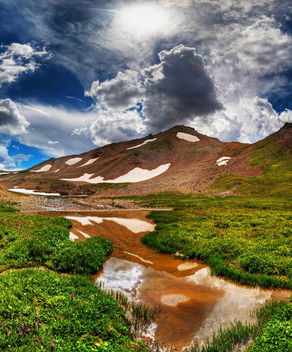 Mountain Pond - image gratuit #285393