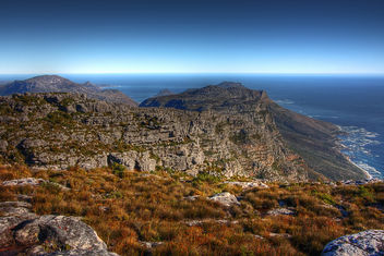 Table Mountain Scenery - HDR - Kostenloses image #286653