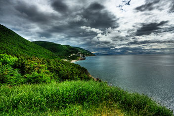 Cabot Trail Scenery - HDR - Free image #286743