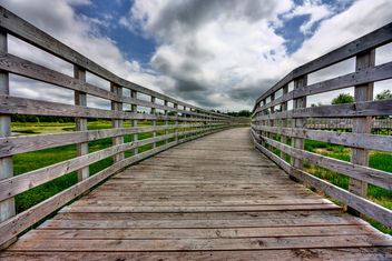 PEI Country Bridge - HDR - image #286753 gratis