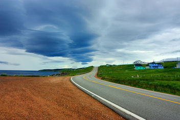Cabot Trail Scenic Route - HDR - Free image #286773