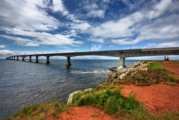 Confederation Bridge - HDR - Free image #286943