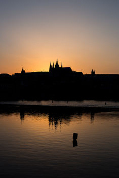 Hradcany at Sundown - image #288593 gratis