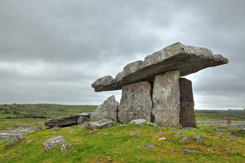 Poulnabrone Dolmen - HDR - Free image #289433