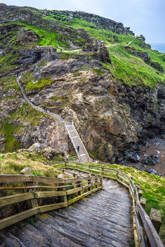 Tintagel Castle, Cornwall, United Kingdom - бесплатный image #291623