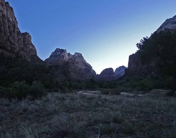 Zion, First Light North of Patriarchs 4-30-14 - Free image #291953