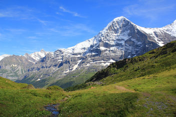 The famous Eiger - Kostenloses image #293513
