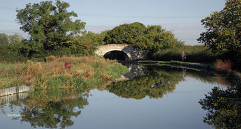Shropshire Union Canal at Little Stanney Cheshire - image gratuit #294573