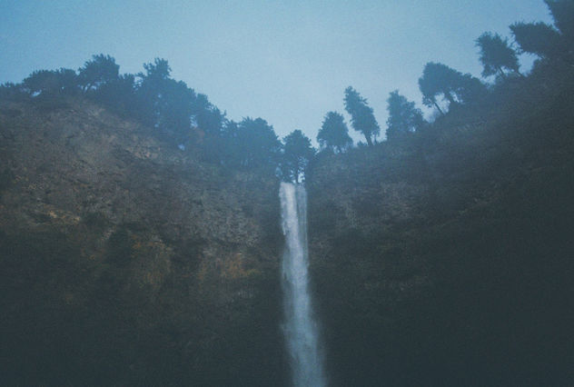 Waterfalls and Fog. - Free image #295223