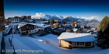 Amazing Winter Panorama Haute-Nendaz - бесплатный image #296473