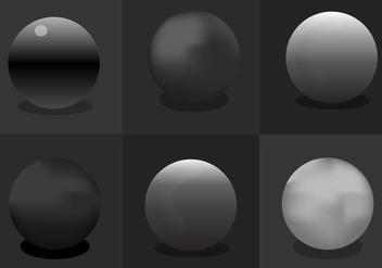 Chrome Sphere - vector gratuit #297663