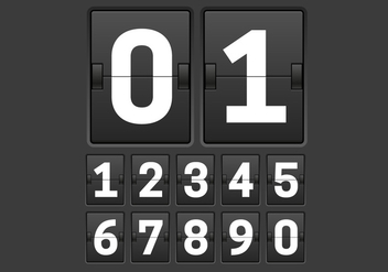 Free Countdown Timer Vector - Kostenloses vector #297903