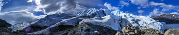 Panoramic from a Patagonian glacier - image #298763 gratis
