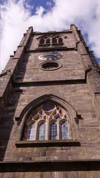 Lancaster Priory Clock Tower - Free image #298843