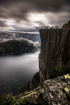 Preikestolen (The pulpit rock) - Norway - Landscape photography - бесплатный image #300303