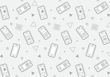 Free Iphone 6 Pattern #4 - vector gratuit #301763