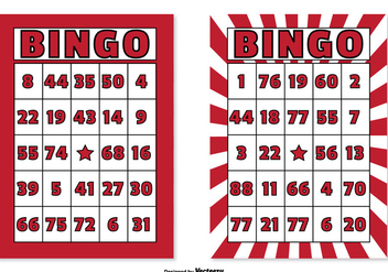 Bingo Card Set - Free vector #301803