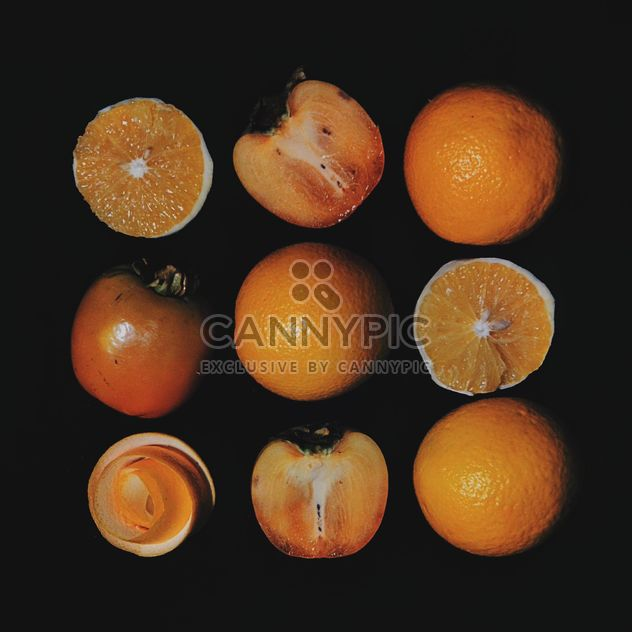 Persimmons and Orange slices - Kostenloses image #301963