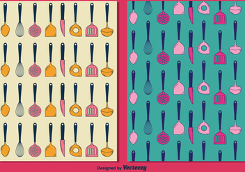 Free Cutlery Pattern - Free vector #302243