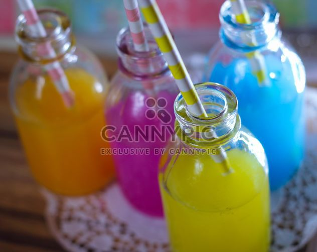 summer colorful drinks - image gratuit #302353